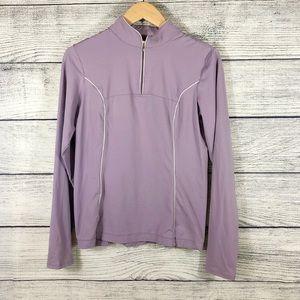 Lucy Tech purple pullover size medium